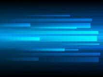 Vector la tecnologia di progettazione, la velocità, fondo veloce Fotografia Stock