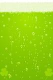 Vector la textura verde de la cerveza para el día del St. Patricks Foto de archivo libre de regalías