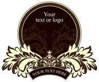 Vector label. Elements for design Royalty Free Stock Photos