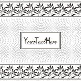 Vector label Royalty Free Stock Photos