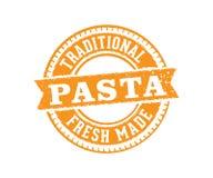 Vector label badge stamp tag design for pasta product marketing selling e-commerce online shop, premium, the best vector illustration