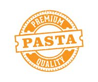 Vector label badge stamp tag design for pasta product marketing selling e-commerce online shop, premium, the best royalty free illustration