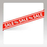 Vector label Sale Stock Image
