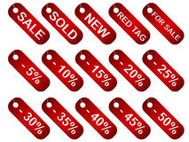 Vector labels Stock Photo