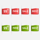 Vector labels best sale. Design elements. Royalty Free Stock Photo