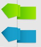 Vector labels for business design. EPS 10. Vector labels for business design. EPS 10 Royalty Free Stock Photography