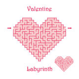 Vector labyrinth 39. Royalty Free Stock Images