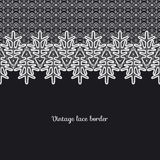 Vector lace border Stock Images