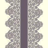 Vector Lace Border. Seamless Pattern. Royalty Free Stock Photo
