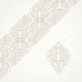 Vector lace border in Victorian style. Stock Photography