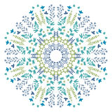 Vector Lace Doily Design. Floral elements. Stock Photography