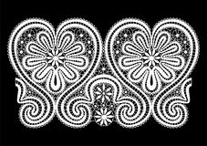 Vector lace elements Stock Photography