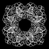 Vector lace pattern Royalty Free Stock Images