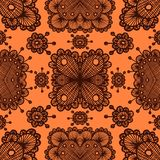 Vector lace pattern. Eps10. Vector lace color retro seamless pattern. Eps10 Royalty Free Stock Image