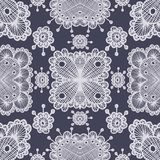 Vector lace pattern. Eps10. Vector lace color retro seamless pattern. Eps10 Stock Photos