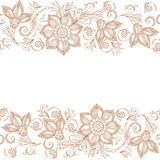 Vector Lace pattern for invitation or greeting card Stock Image