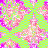 Vector lace pattern. Seamless  lace decorative pattern with lace effect Stock Photo