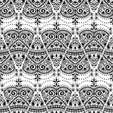 Vector lace seamless ornament Royalty Free Stock Images