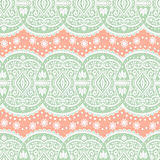Vector lace seamless ornament Stock Image