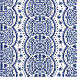 Vector lace seamless ornament Stock Photography