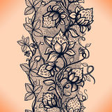 Vector lace seamless pattern Stock Images