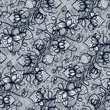 Vector lace seamless pattern Royalty Free Stock Images