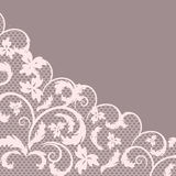 Vector lace Stock Photo