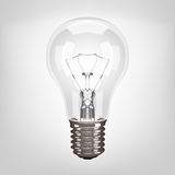 Vector lamp bulb Royalty Free Stock Photos