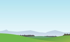 Vector Landscape Background 1 Royalty Free Stock Images