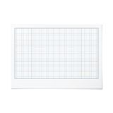 Vector landscape orientation engineering graph paper Stock Images