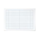 Vector landscape orientation engineering graph paper Royalty Free Stock Photography