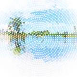 Vector landschapsachtergrond Royalty-vrije Stock Afbeeldingen
