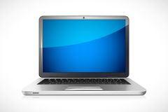 Vector Laptop Royalty Free Stock Image