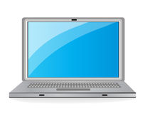 Vector laptop icon. Stock Image