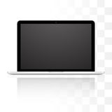 Vector laptop isolated on white background Royalty Free Stock Image