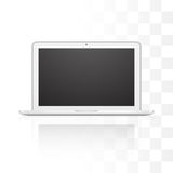 Vector laptop isolated on white background Royalty Free Stock Photos
