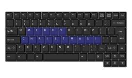 Vector laptop keyboard Stock Image