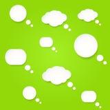 Vector las burbujas del discurso Fotografía de archivo