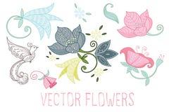 Vector las flores Fotos de archivo libres de regalías