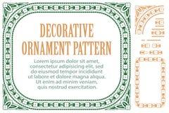 Vector las flores del elemento para el diseño, creando las fronteras, los marcos y los fondos Tres cepillos incluidos Foto de archivo libre de regalías