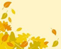 Vector las hojas de otoño 1 Fotos de archivo