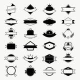 Vector las insignias, ejemplo retro del vector de las etiquetas del vintage ilustración del vector