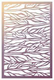 Vector Laser cut panel. Abstract Pattern template for decorative Stock Photos