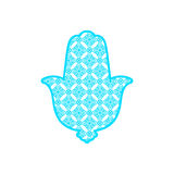 Vector Laser cutting template  Hamsa Stock Photography