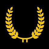 Vector Laurel Wreaths Royalty Free Stock Photography
