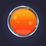 Vector Lava button Royalty Free Stock Photos