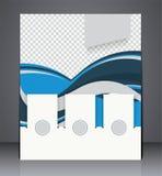 Vector layout  brochure, flyer design template Stock Images