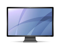 Vector LCD monitor Stock Photography