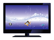 Vector lcd tv Stock Photos
