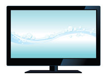 Vector lcd tv Stock Photography